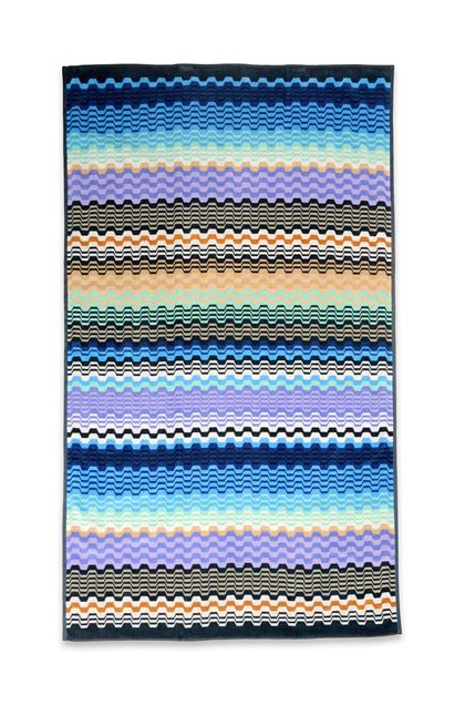 MISSONI HOME LARA TOWEL  Blue E - Back