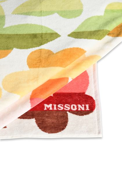 MISSONI HOME JAMELIA BEACH TOWEL White E - Front
