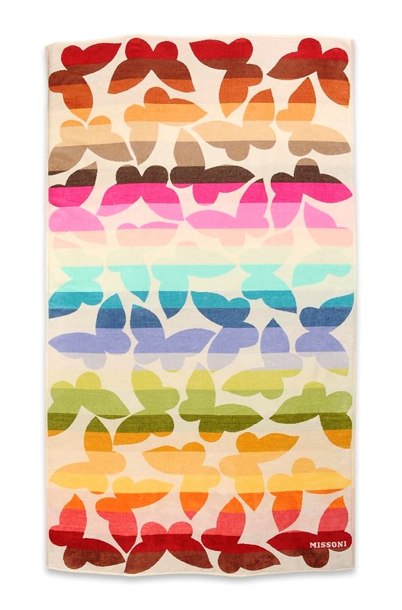 MISSONI HOME JAMELIA BEACH TOWEL E, Frontal view