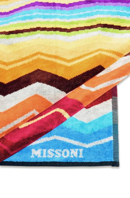 MISSONI HOME HUGO BEACH TOWEL Turquoise E - Front