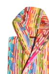 MISSONI HOME JOSEPHINE HOODED BATHROBE Towelling robe E b
