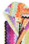 MISSONI HOME GIACOMO HOODED BATHROBE E, Rear view
