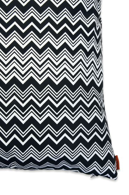 MISSONI HOME OZ CUSHION Black E - Front