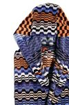 MISSONI HOME Towelling robe E, Rear view