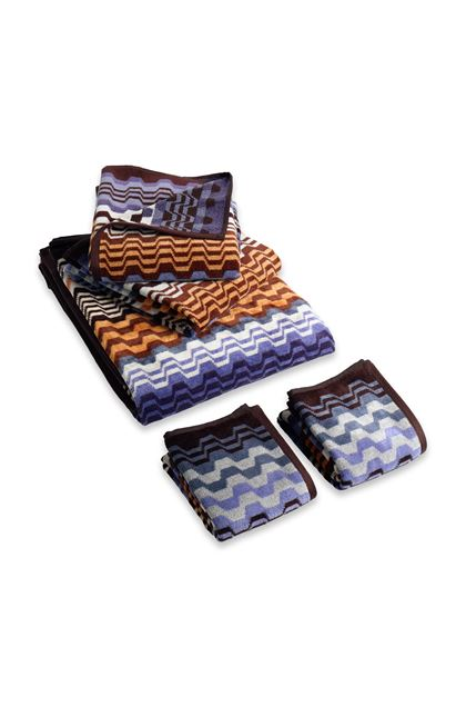 MISSONI HOME LARA FULL 5 PEZZI Blu E - Retro