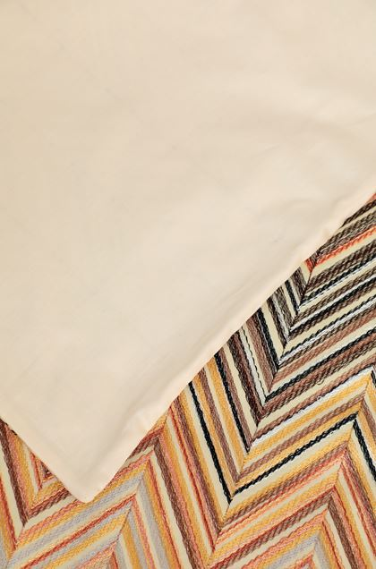 MISSONI HOME JANET DUVET COVER SET Ivory E - Front