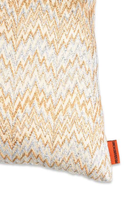 MISSONI HOME PARIS CUSHION E, Rear view