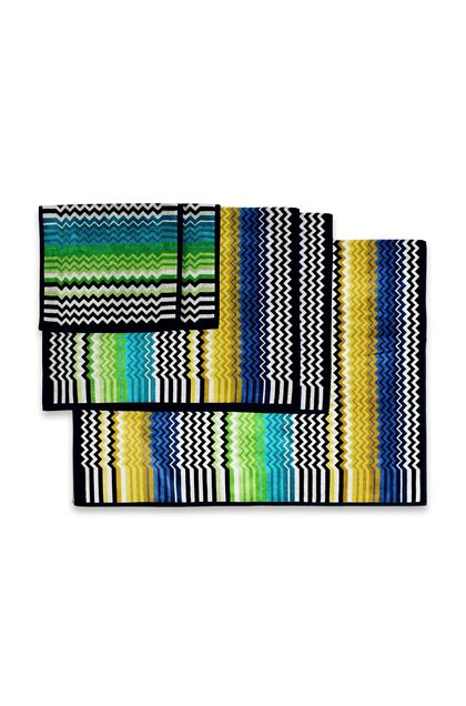 MISSONI HOME STAN 5-PIECE SET Turquoise E - Front