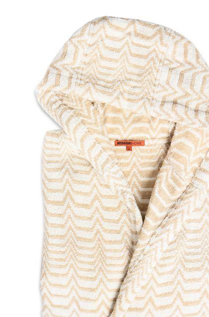 MISSONI HOME Towelling robe E VASILIJ HOODED BATHROBE b