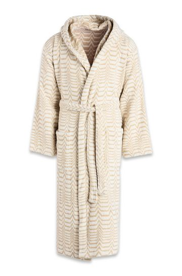 MISSONI HOME Towelling robe E SAMMY HOODED BATHROBE m