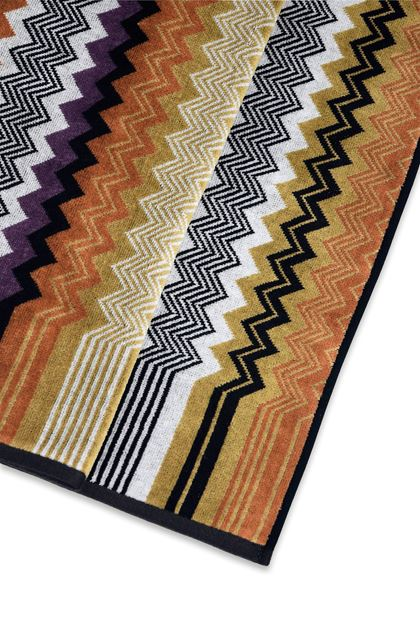 MISSONI HOME SETH TOWEL Black E - Front