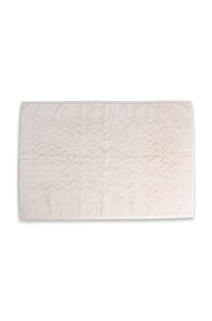 MISSONI HOME REX BATH MAT  Ivory E - Back