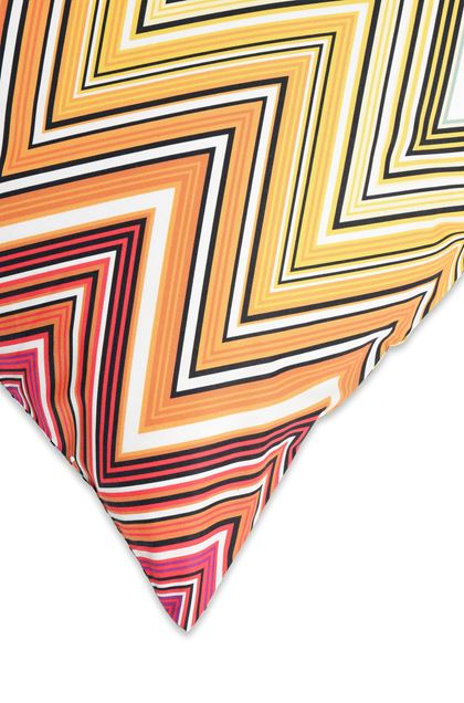 MISSONI HOME TREVOR PILLOWCASES 2-PIECE SET Orange E - Front
