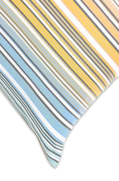 MISSONI HOME TIBAULT PILLOWCASES 2-PIECE SET Pastel blue E - Front