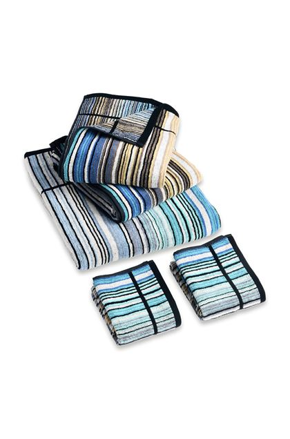 MISSONI HOME TABATA 5-PIECE SET Sky blue E - Back