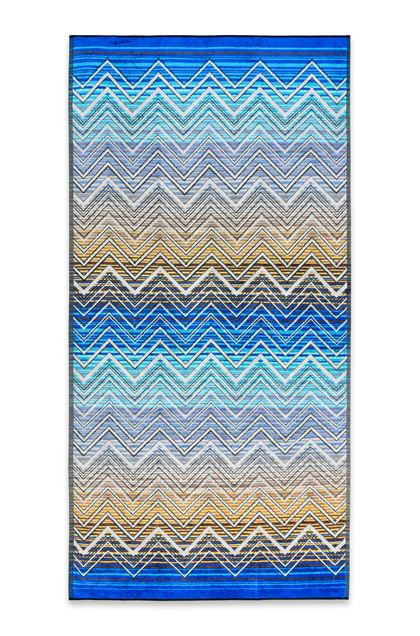 MISSONI HOME TOLOMEO TOWEL Blue E - Back