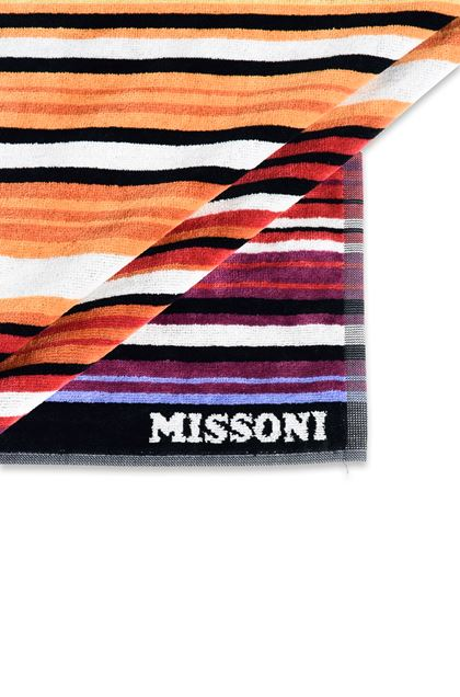 MISSONI HOME TABATA BEACH TOWEL Orange E - Front