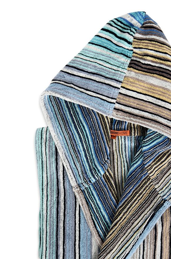 MISSONI HOME TABATA HOODED BATHROBE E 9814e3790