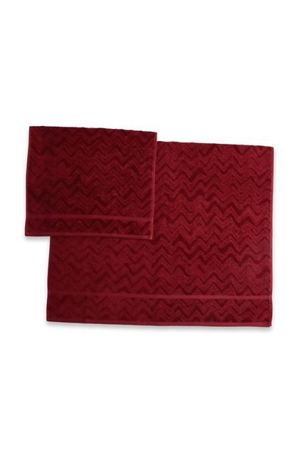 MISSONI HOME REX 2-PIECE SET Brick red E - Front