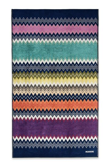 missoni home unisex beach towel hugo beach towel. Black Bedroom Furniture Sets. Home Design Ideas