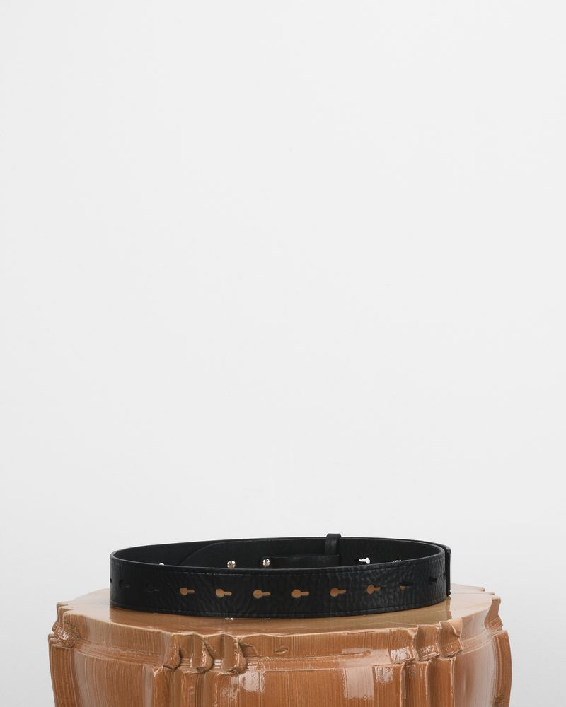 Marcia Smooth leather perforated belt  ISABEL MARANT