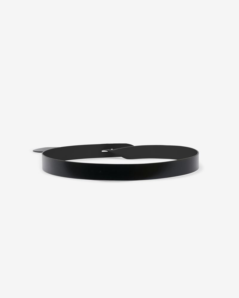LECCE leather bow belt ISABEL MARANT