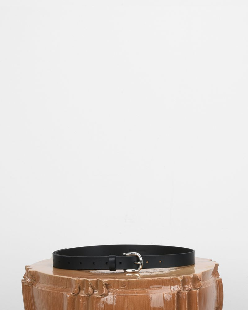 Zap Smooth leather belt ISABEL MARANT