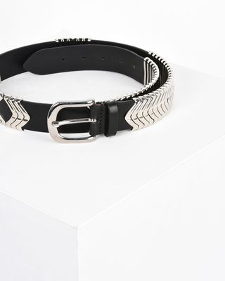 ISABEL MARANT BELT Woman Tehora Smooth leather belt r