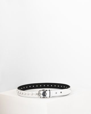 Zoa Glossy leather belt