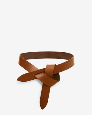 Lecce Smooth leather tie belt