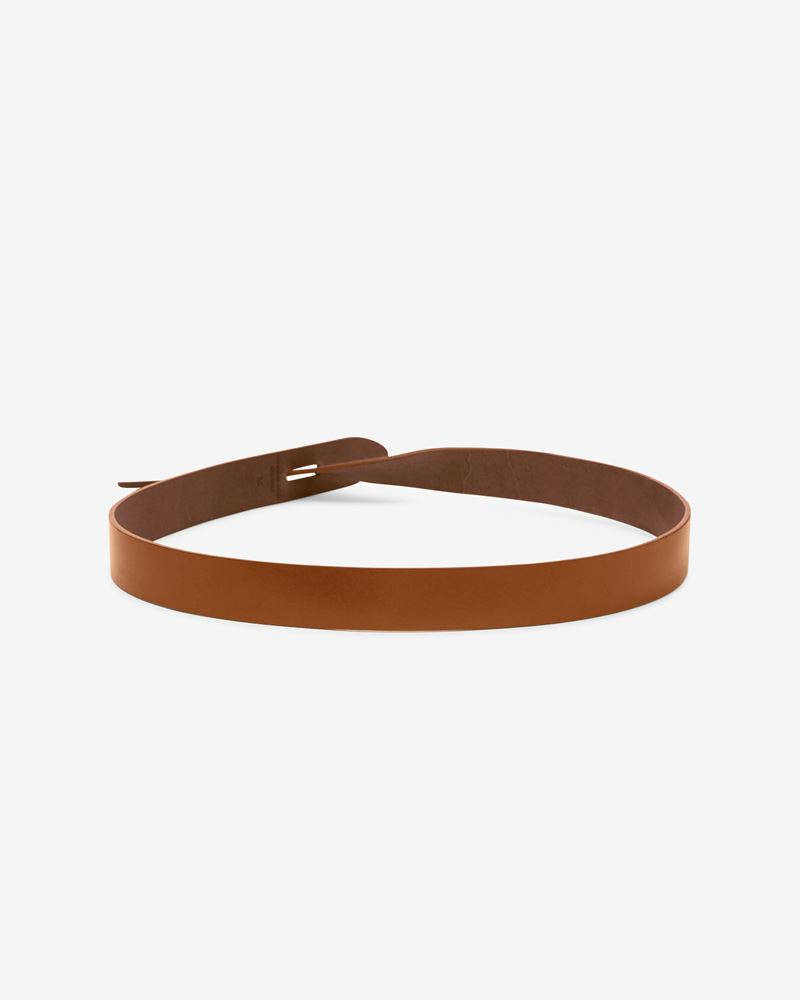 Lecce Smooth leather tie belt ISABEL MARANT
