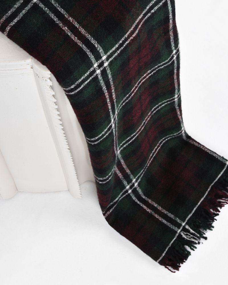 Loria Tartan style linen scarf ISABEL MARANT