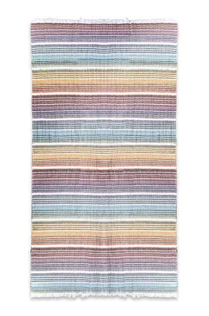 MISSONI HOME TARQUINIO BEACH TOWEL  Orange E - Back