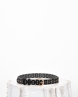 KIMMY crystal stud belt