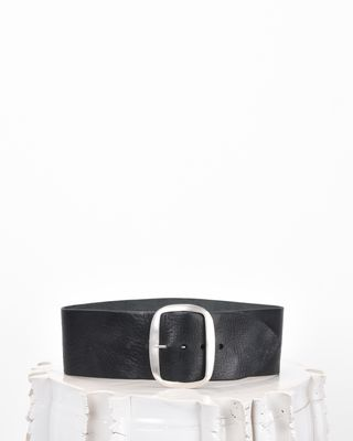 TIKKY wide belt in vegetable leather