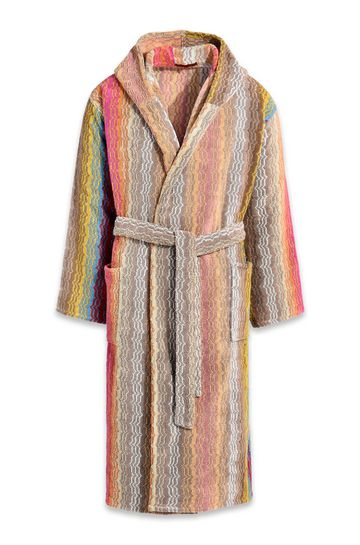 MISSONI HOME Towelling robe E TIAGO HOODED BATHROBE m
