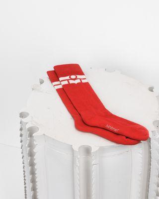 VIBE logo socks