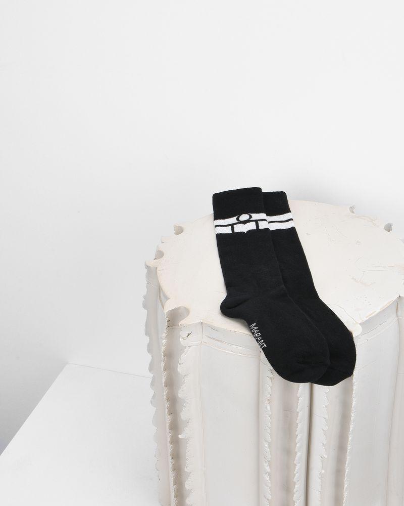VIBE logo socks ISABEL MARANT