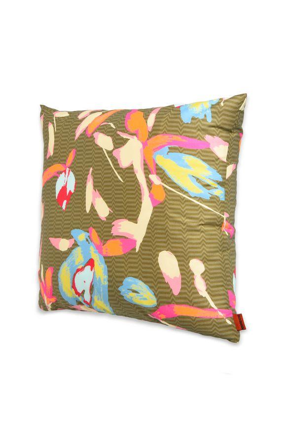 MISSONI HOME 16x16 in. Decorative cushion E TESSA CUSHION m