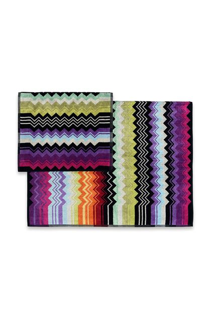 MISSONI HOME GIACOMO 2-PIECE SET Black E - Front