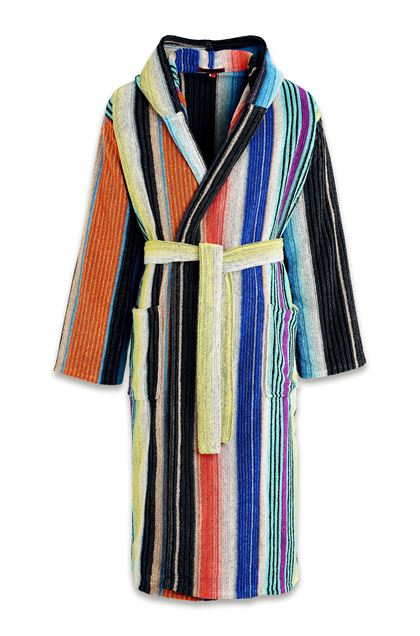 VIVIETTE HOODED BATHROBE