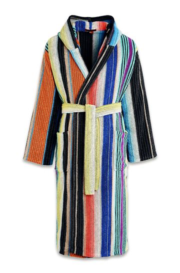MISSONI HOME Towelling robe E JOSEPHINE HOODED BATHROBE m