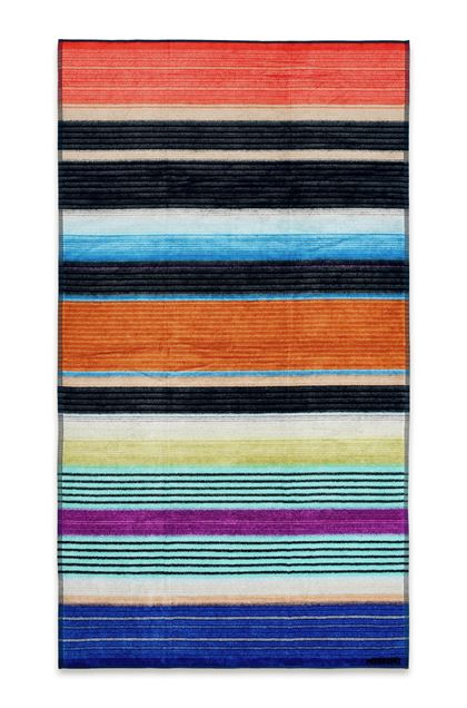 MISSONI HOME VIVIETTE BEACH TOWEL Blue E - Back