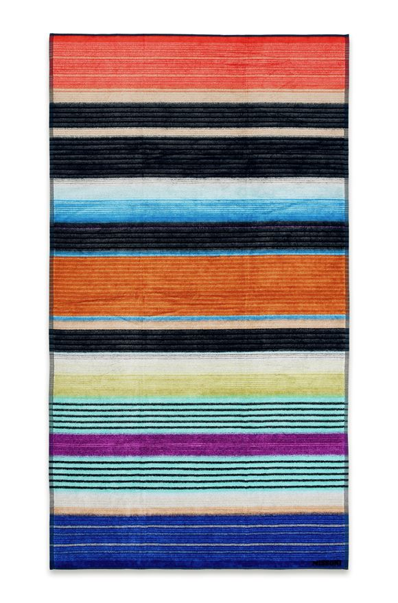 MISSONI HOME VIVIETTE BEACH TOWEL E, Frontal view