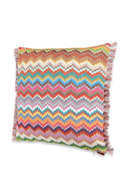 MISSONI HOME VIRNA CUSCINO Marrone E - Retro