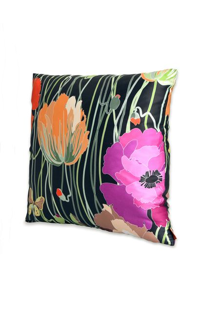 MISSONI HOME VERONICA CUSHION Black E - Back