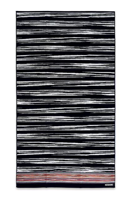 MISSONI HOME VINCENT BEACH TOWEL Black E - Back