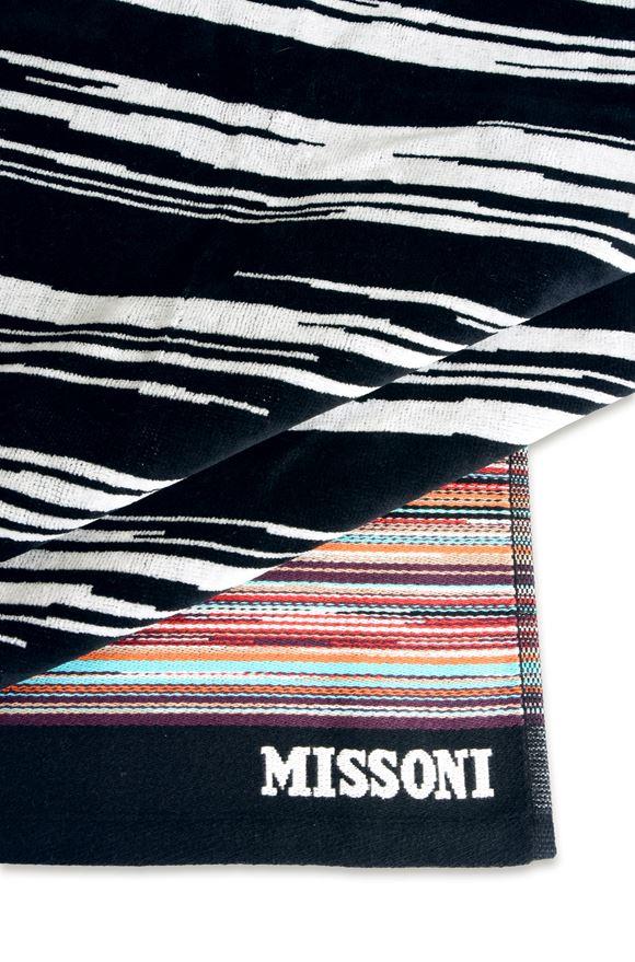 MISSONI HOME VINCENT BEACH TOWEL E, Rear view