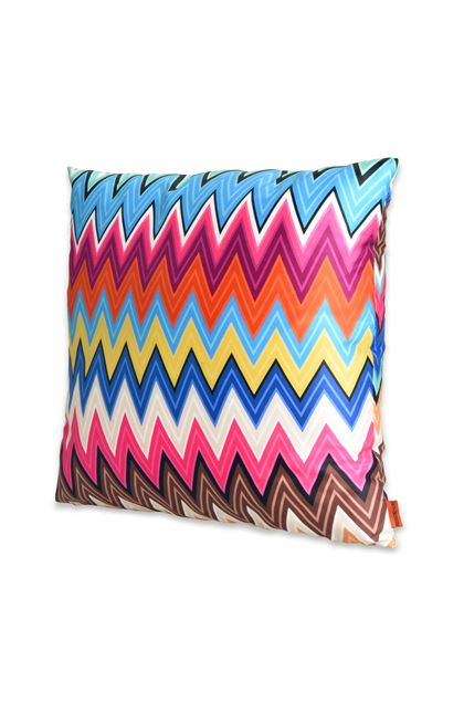 MISSONI HOME VALENTINO CUSHION Fuchsia E - Back