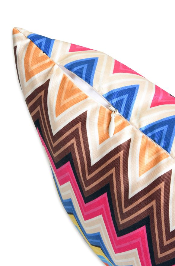 MISSONI HOME VALENTINO CUSHION E, Side view
